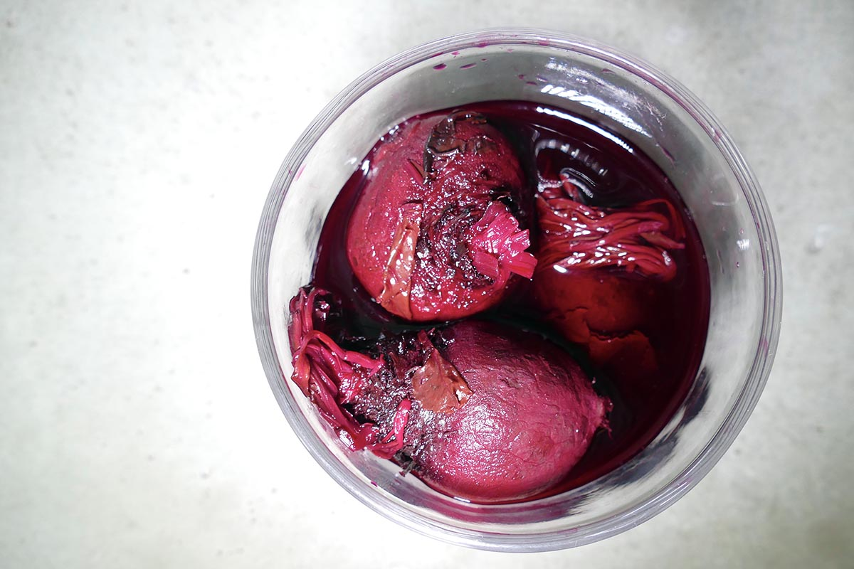 rote beete rote Pracht