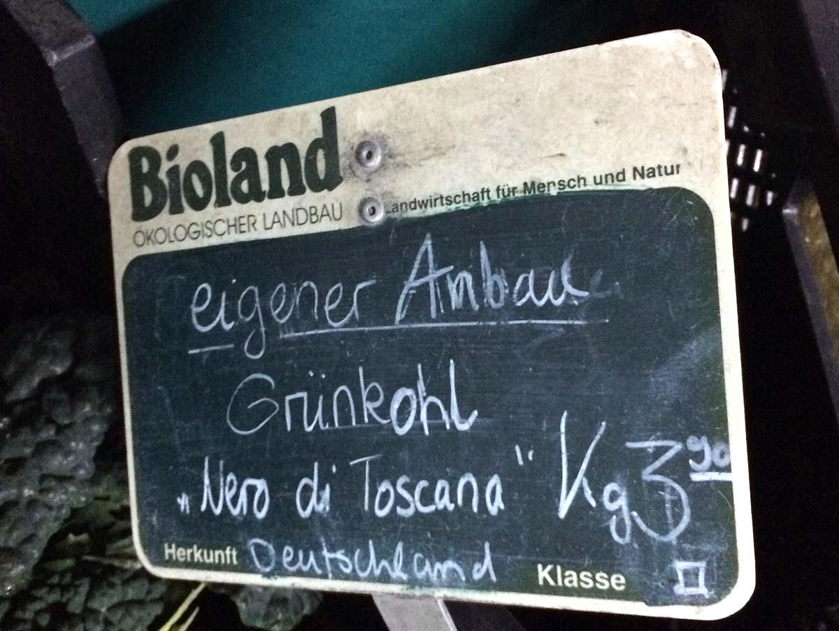 Haehnchen Gruenkohl