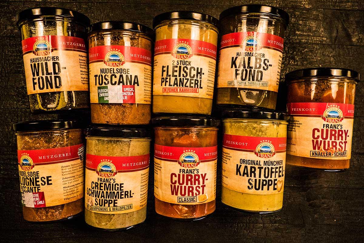 suppe hübsche Etiketten