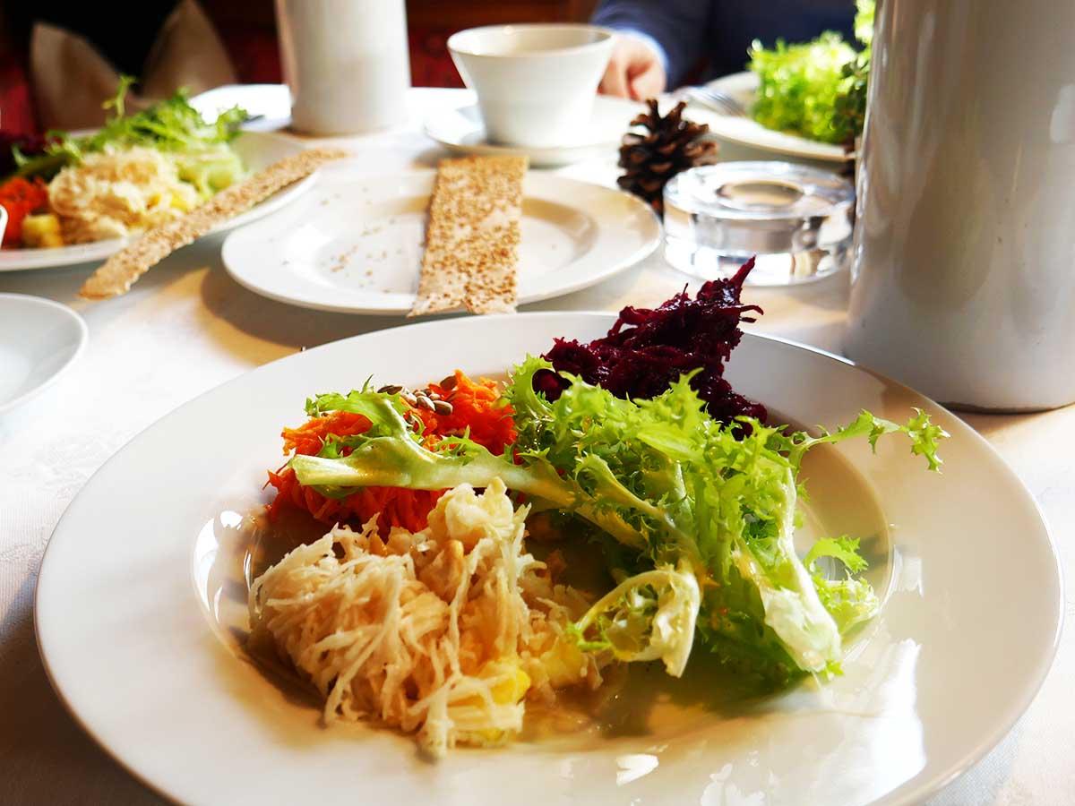 Rohkost Salat