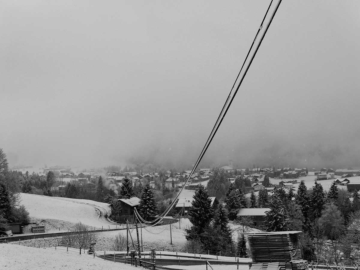 Hittisau im Schnee